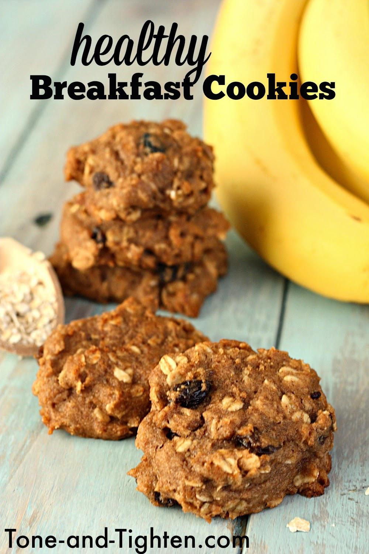 Healthy Breakfast Cookies  Healthy Oatmeal Breakfast Cookies Recipe