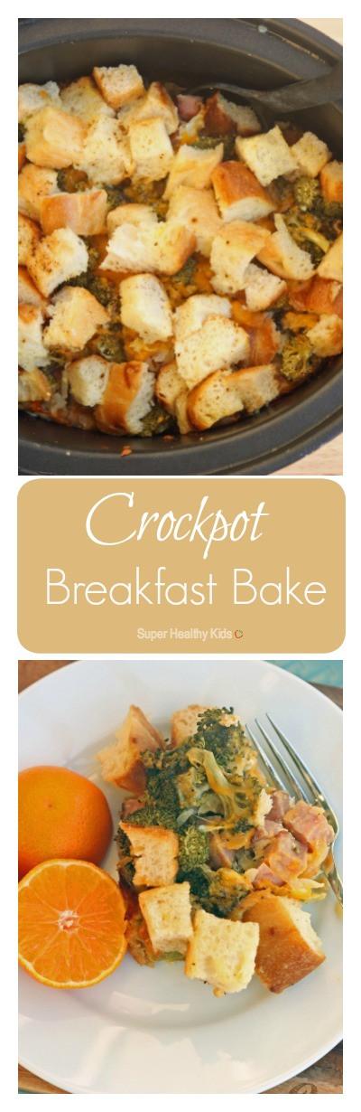 Healthy Breakfast Crockpot Recipes  Crockpot Breakfast Bake Recipe