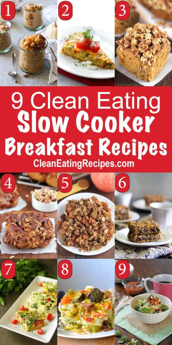 Healthy Breakfast Crockpot Recipes  9 of the Best Ever Clean Eating Easy Healthy Crockpot