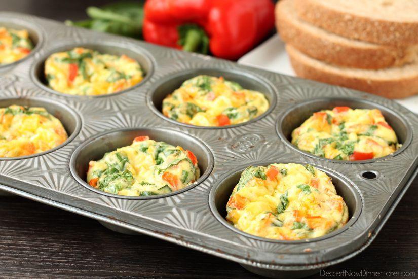 Healthy Breakfast Cups  Breakfast Egg Cups Recipe