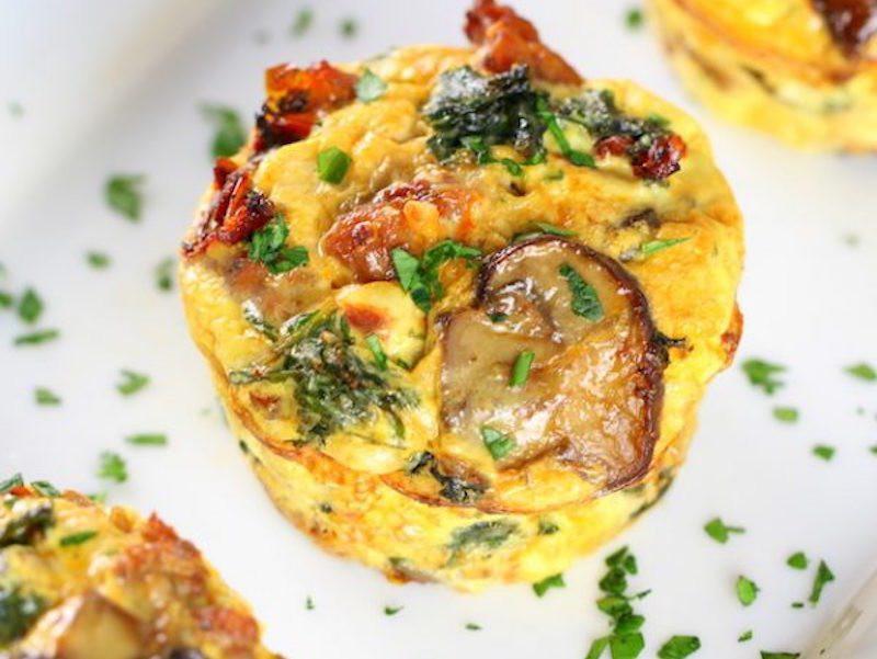 Healthy Breakfast Cups  Healthy Kale Egg Breakfast Cups – Honest Cooking
