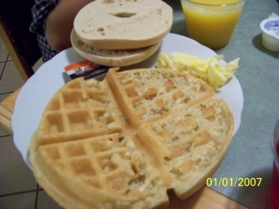 Healthy Breakfast Dallas  super not healthy breakfast Picture of La Quinta Inn