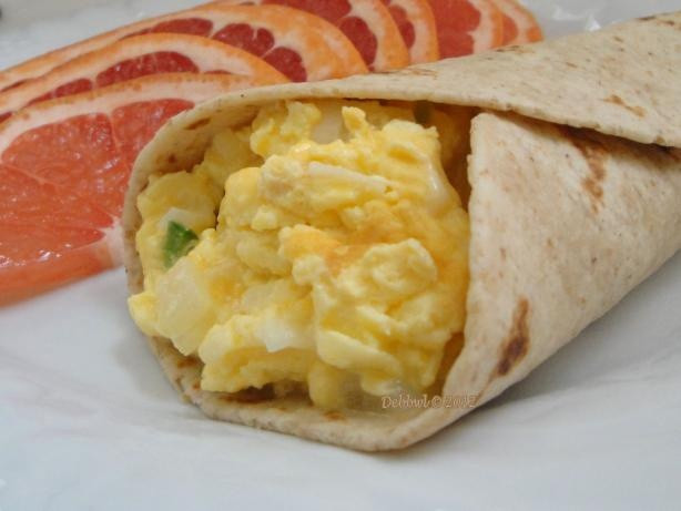 Healthy Breakfast Denver  Light Breakfast Burrito Recipe Yum More Claremore