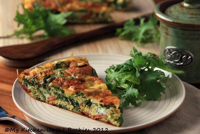Healthy Breakfast Denver  Kale Frittata A Healthy Breakfast Casserole Colorado
