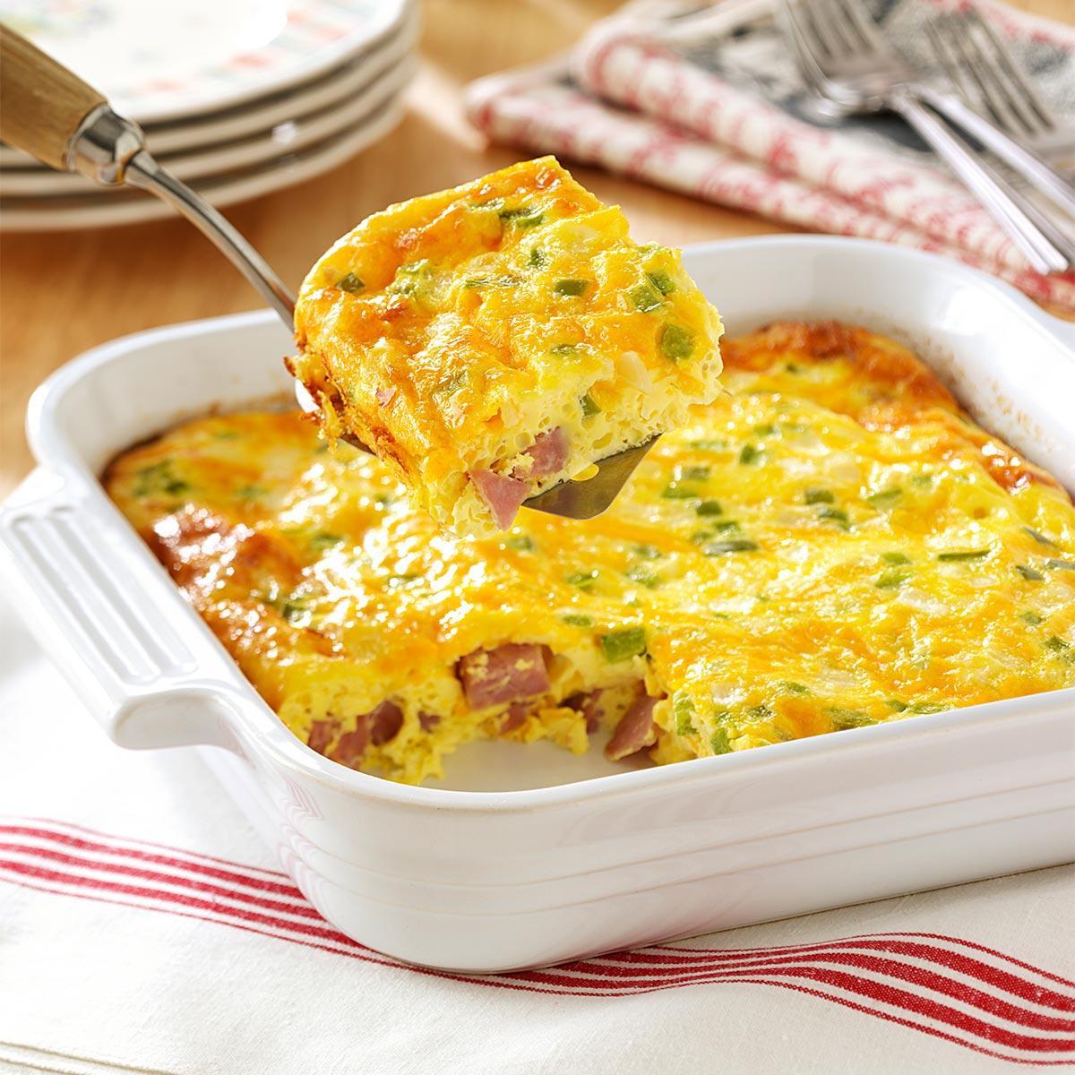 Healthy Breakfast Denver  Oven Denver Omelet Recipe
