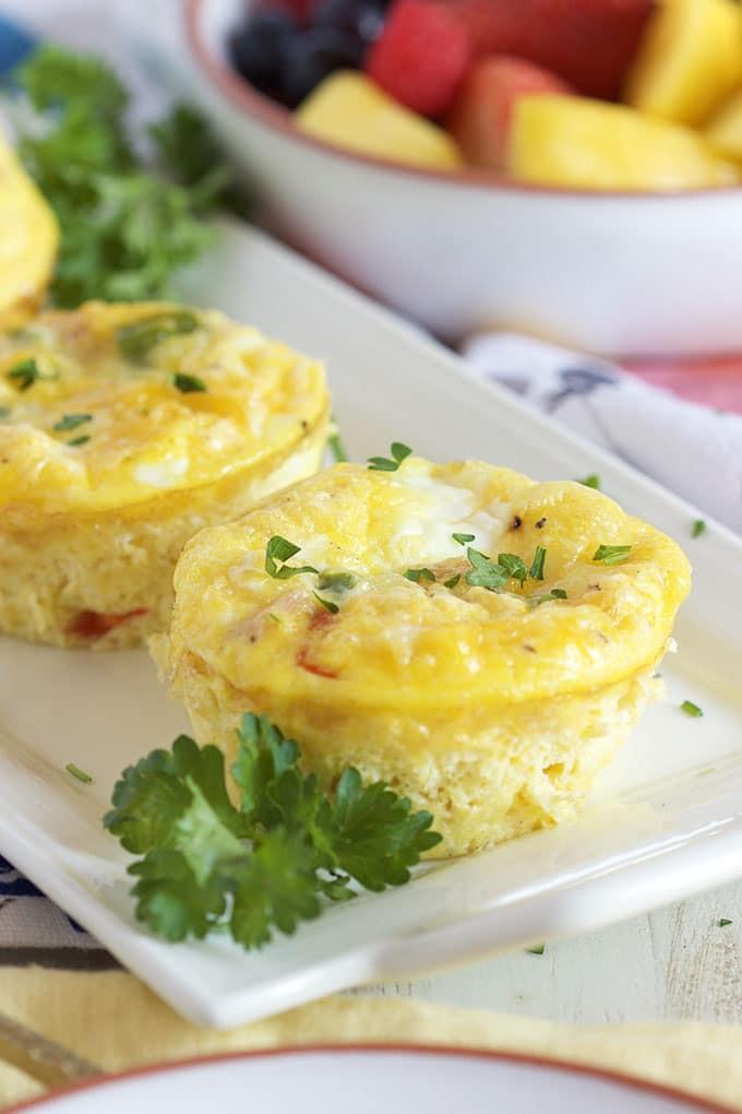 Healthy Breakfast Denver  Easy Denver Omelet Egg Muffins The Suburban Soapbox
