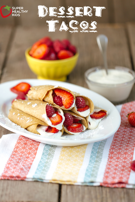 Healthy Breakfast Desserts  Dessert Taco Recipe
