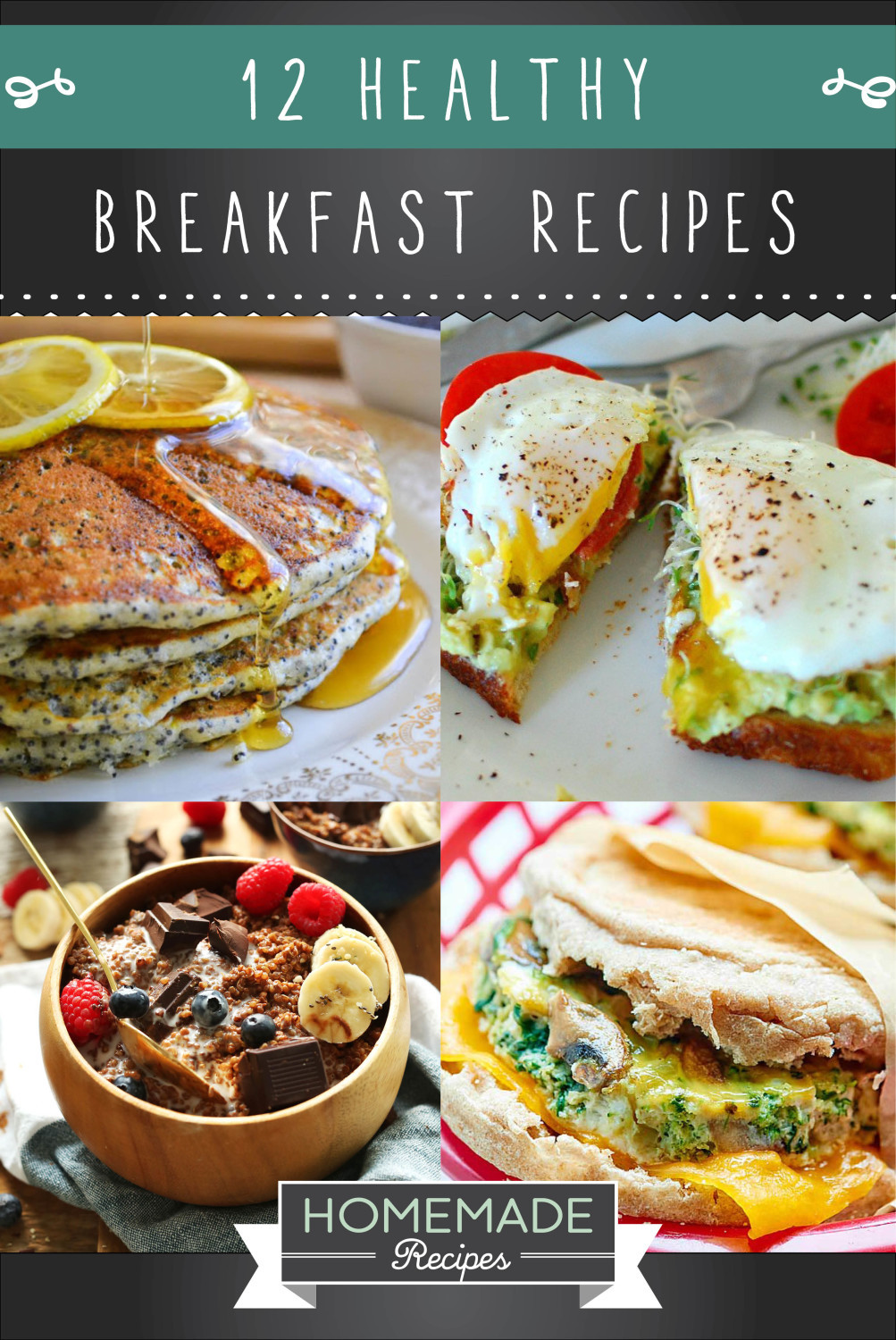 Healthy Breakfast Dishes  12 Healthy Breakfast Recipes To Start Your Morning f Right