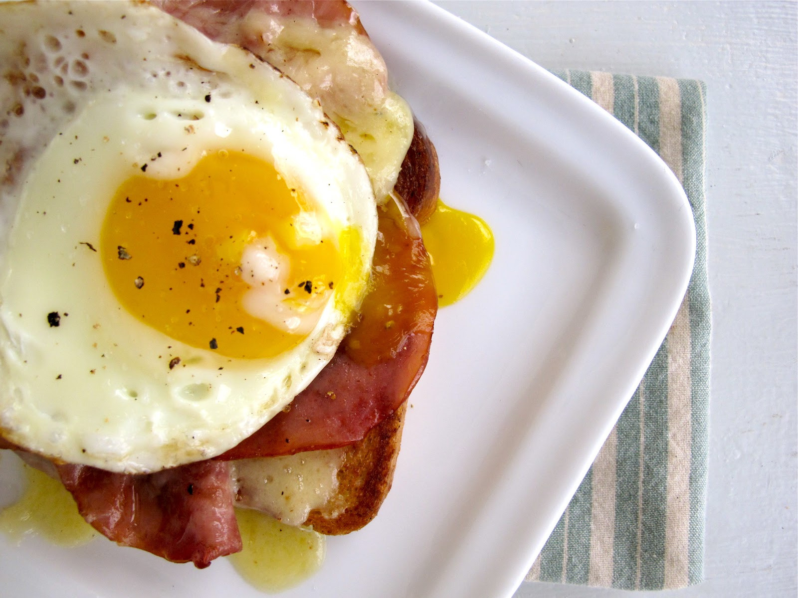 Healthy Breakfast Easy  Jenny Steffens Hobick Croque Madame Recipes