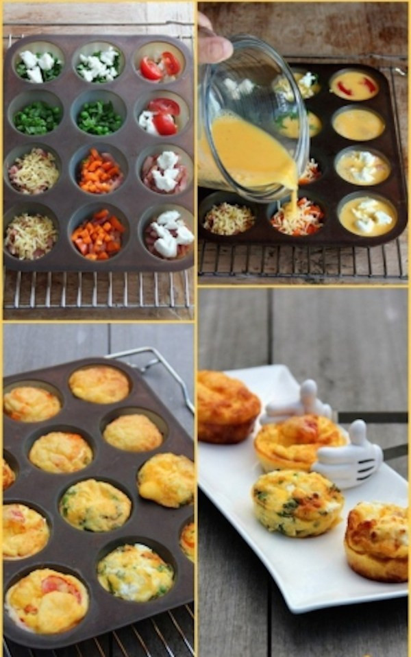 Healthy Breakfast Egg Muffins  Easy Breezy Super Healthy Breakfast Egg Muffins