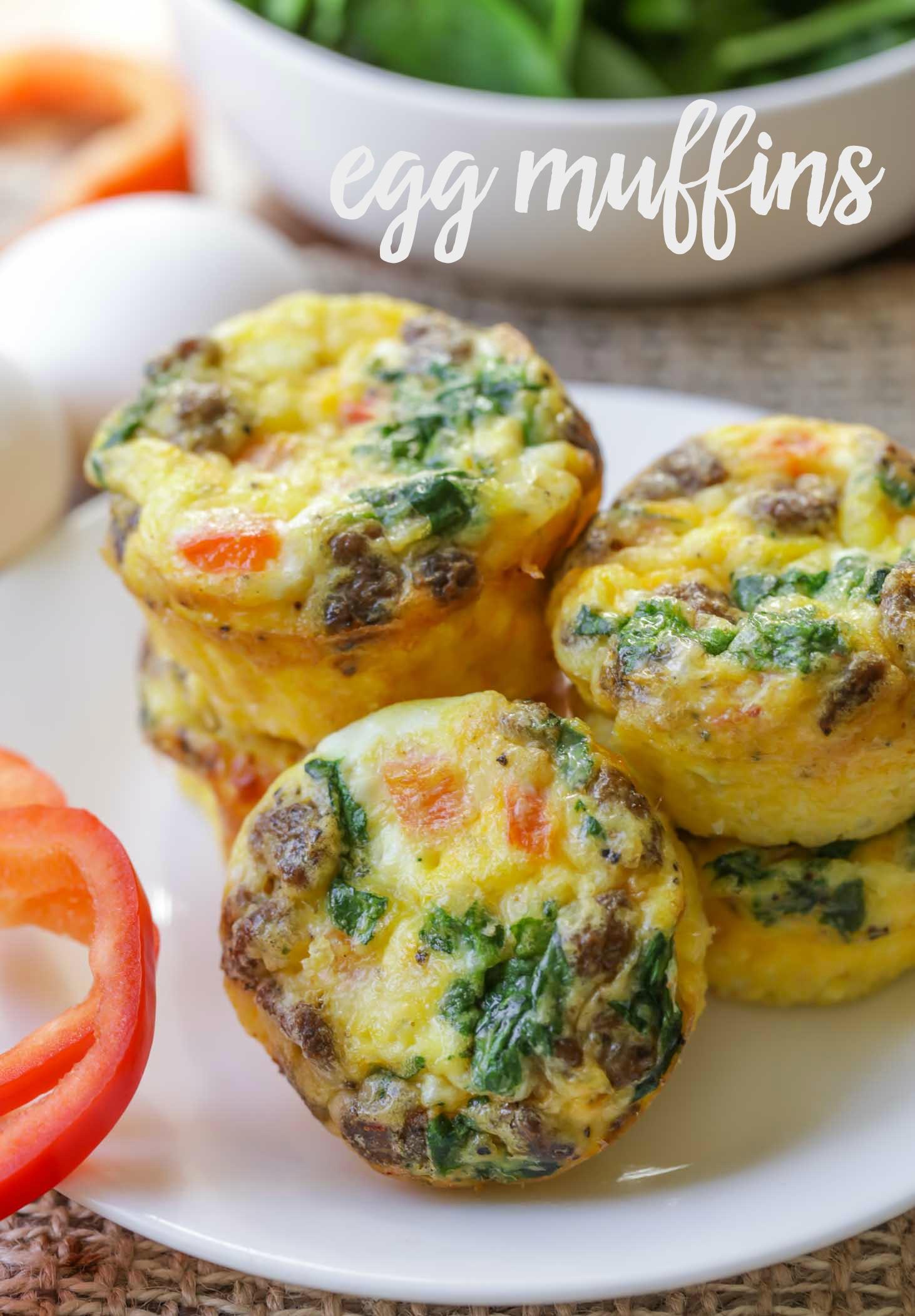 Healthy Breakfast Egg Muffins  healthy egg muffin recipe