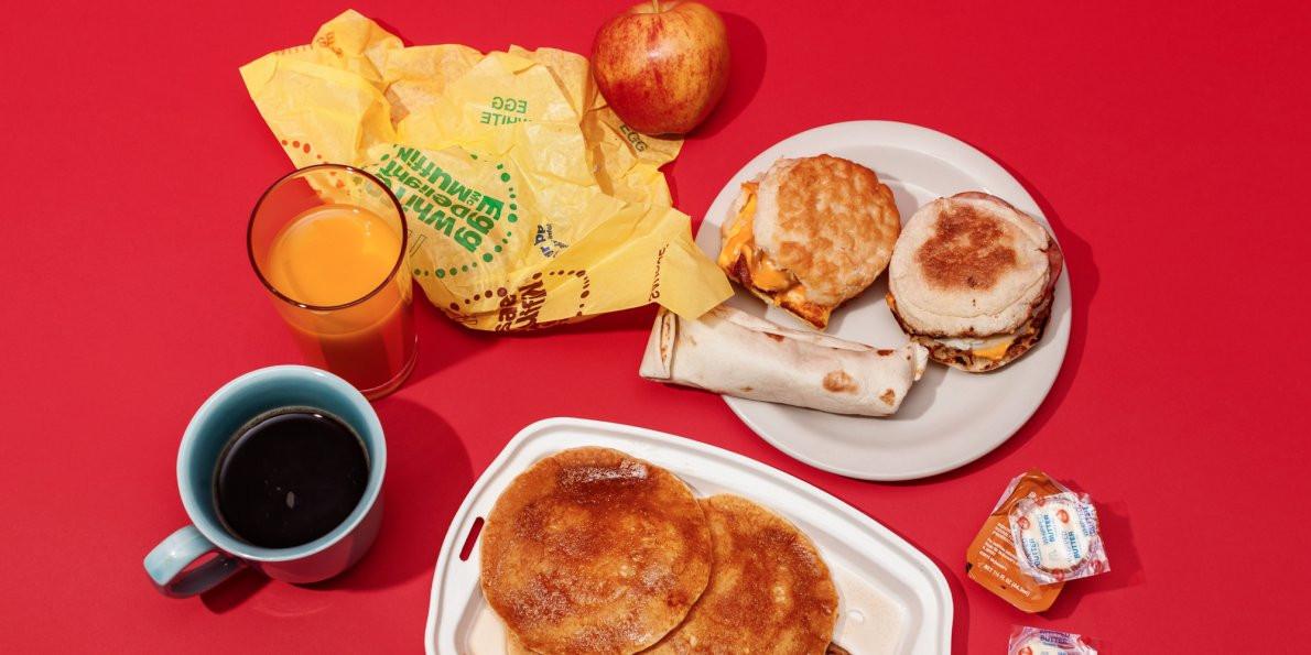 Healthy Breakfast Fast Food  Healthy breakfasts at McDonald s Panera Starbucks