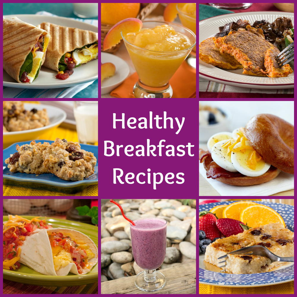 Healthy Breakfast Foods  18 Healthy Breakfast Recipes to Start Your Day Out Right