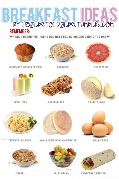 Healthy Breakfast Foods List  HEALTHY BREAKFAST REMINDERS ♥ FITNESS