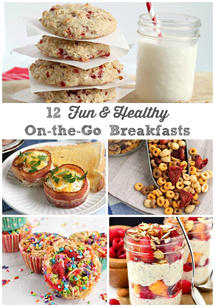 Healthy Breakfast Foods On The Go  Frugal Foo Mama 12 Fun & Healthy the Go Breakfast Ideas