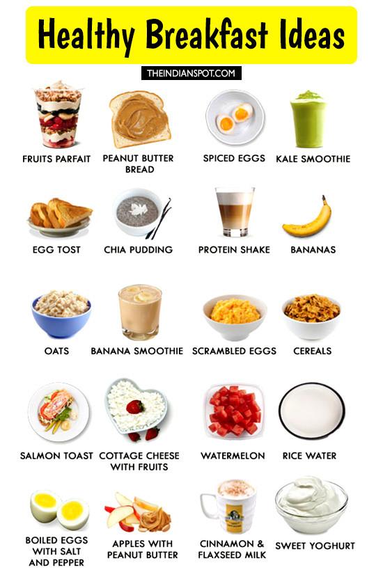 Healthy Breakfast Foods To Eat  best fruits to eat for breakfast