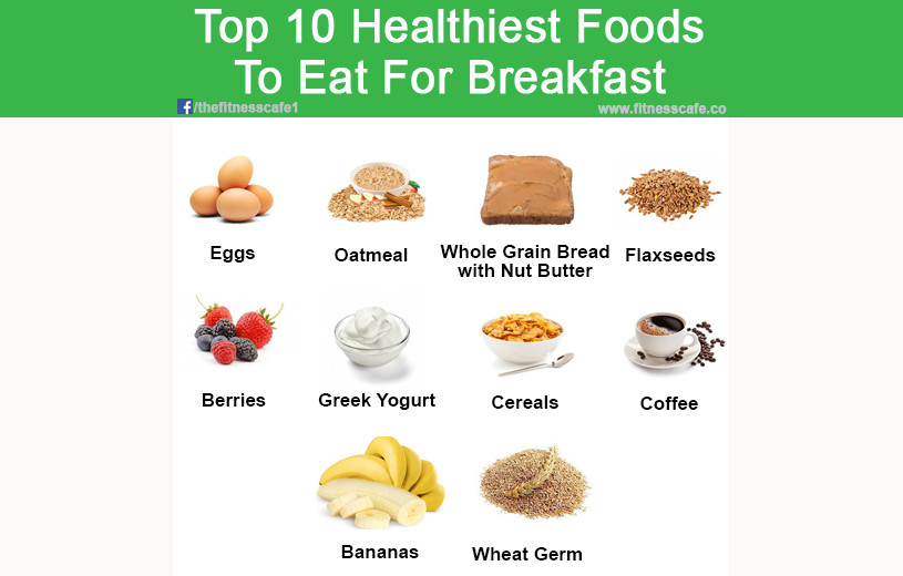 Healthy Breakfast Foods To Eat  Top 10 Healthiest Foods To Eat For Breakfast The Fitness