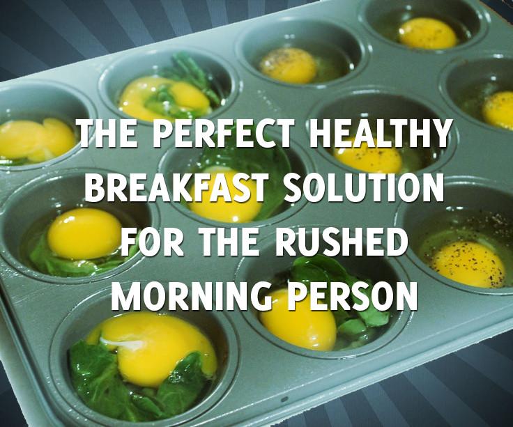 Healthy Breakfast For A Week  Make A Week's Worth Healthy Egg Breakfast Sandwiches in