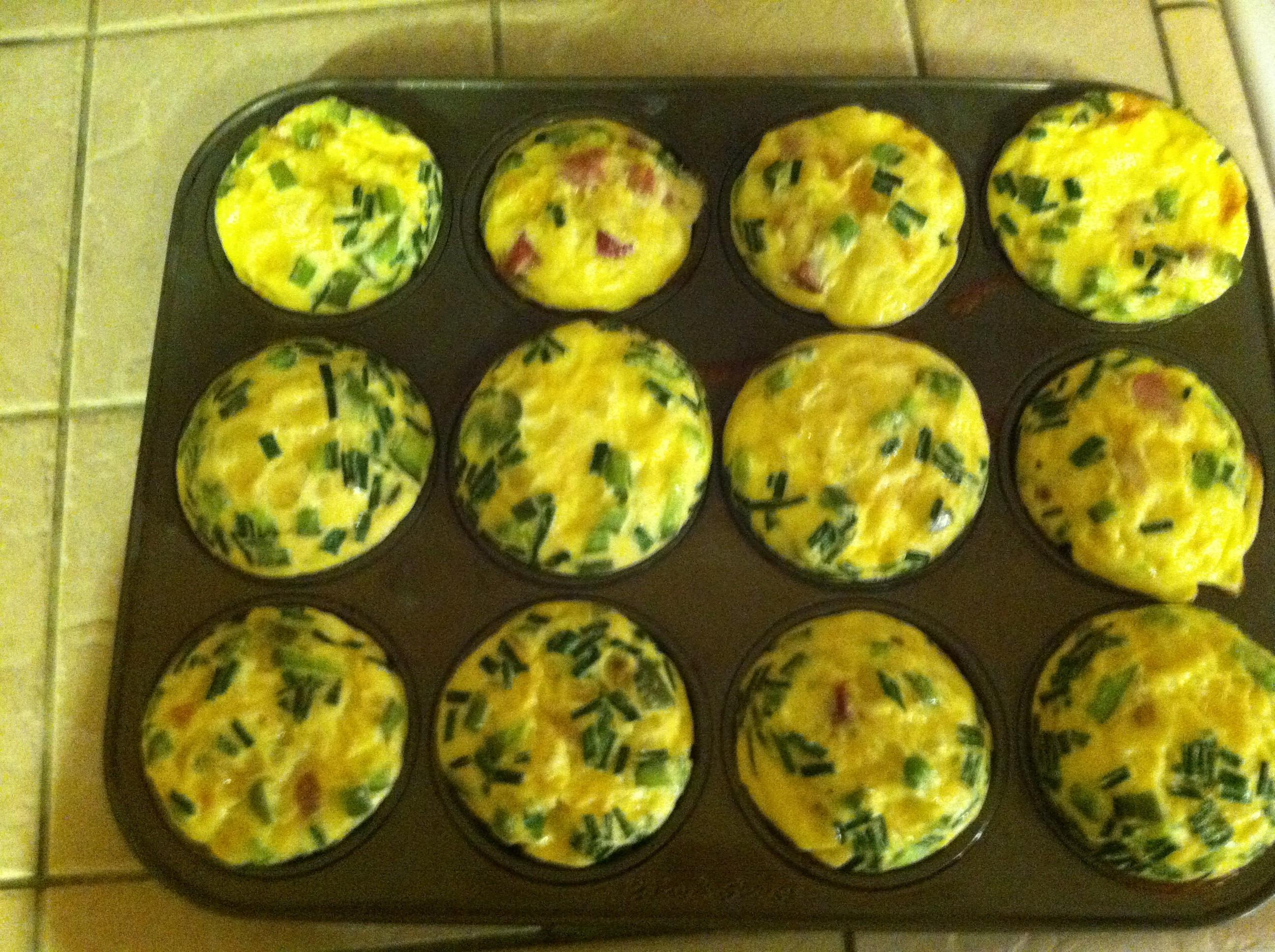 Healthy Breakfast For A Week  Egg Cups Healthy Breakfast For The Week