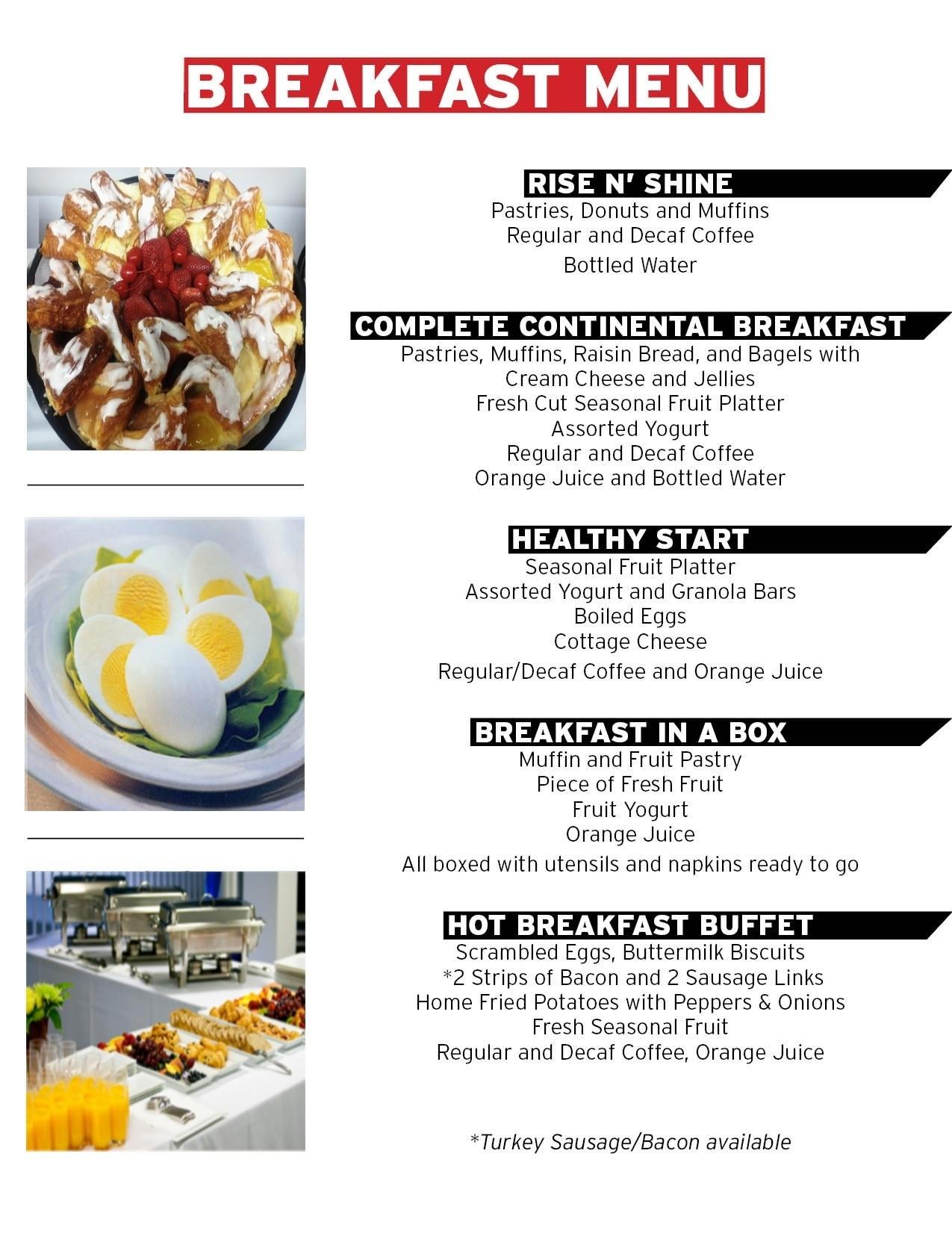 Healthy Breakfast For A Week  Healthy Breakfast Menu Ideas