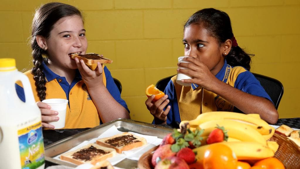 Healthy Breakfast For College Students  White Rock State School students ting involved in