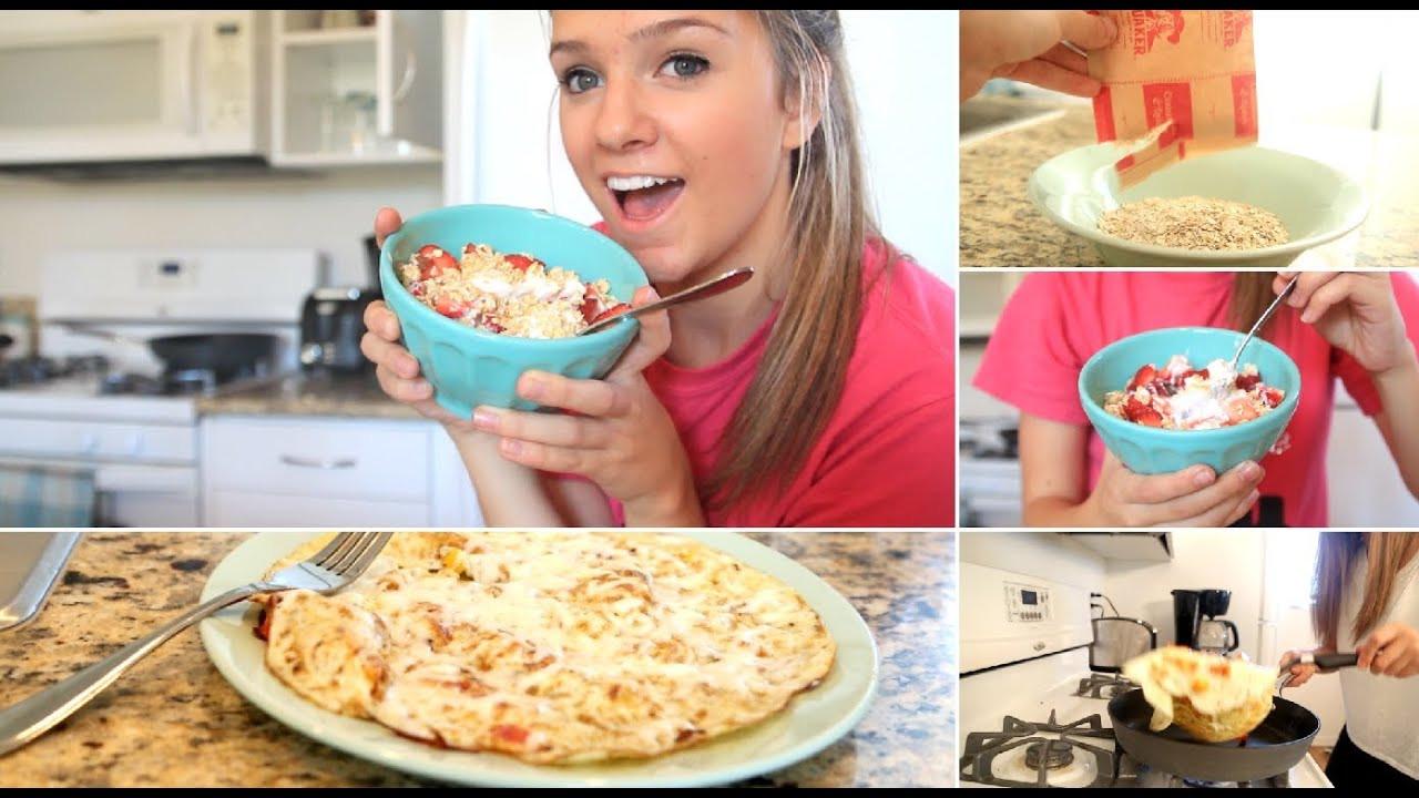 Healthy Breakfast For College Students  Fast & Healthy School Breakfast Ideas