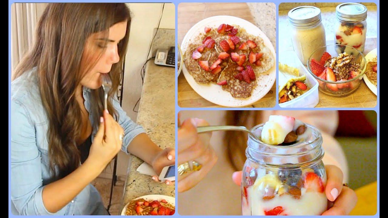 Healthy Breakfast For College Students  Healthy School Breakfast Ideas