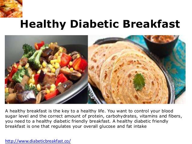 Healthy Breakfast For Diabetics  Diabetic friendly breakfast