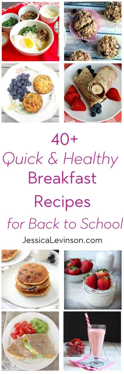 Healthy Breakfast For Kids Before School  40 Quick and Healthy Breakfast Recipes for Back to School