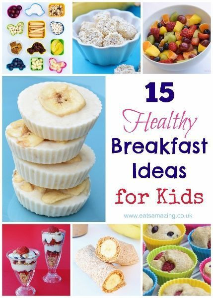 Healthy Breakfast For Kids Before School  1234 best Cooking with Kids images on Pinterest