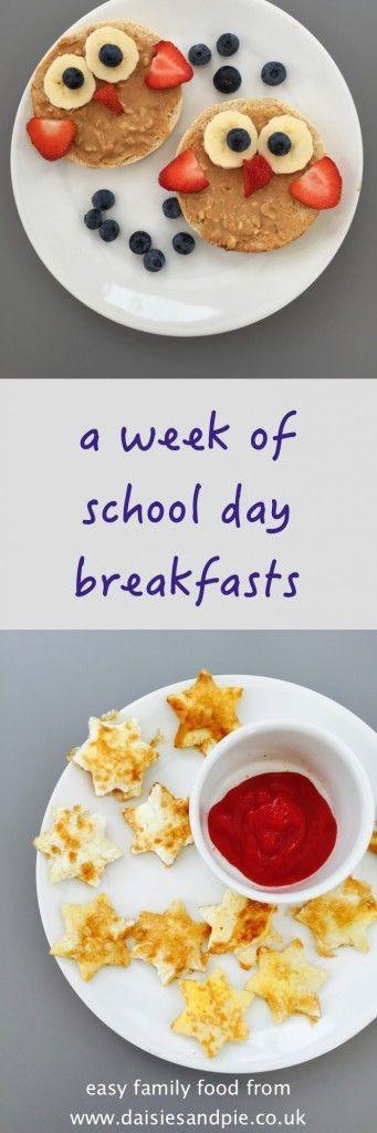Healthy Breakfast For Kids Before School  Easy school day breakfast ideas