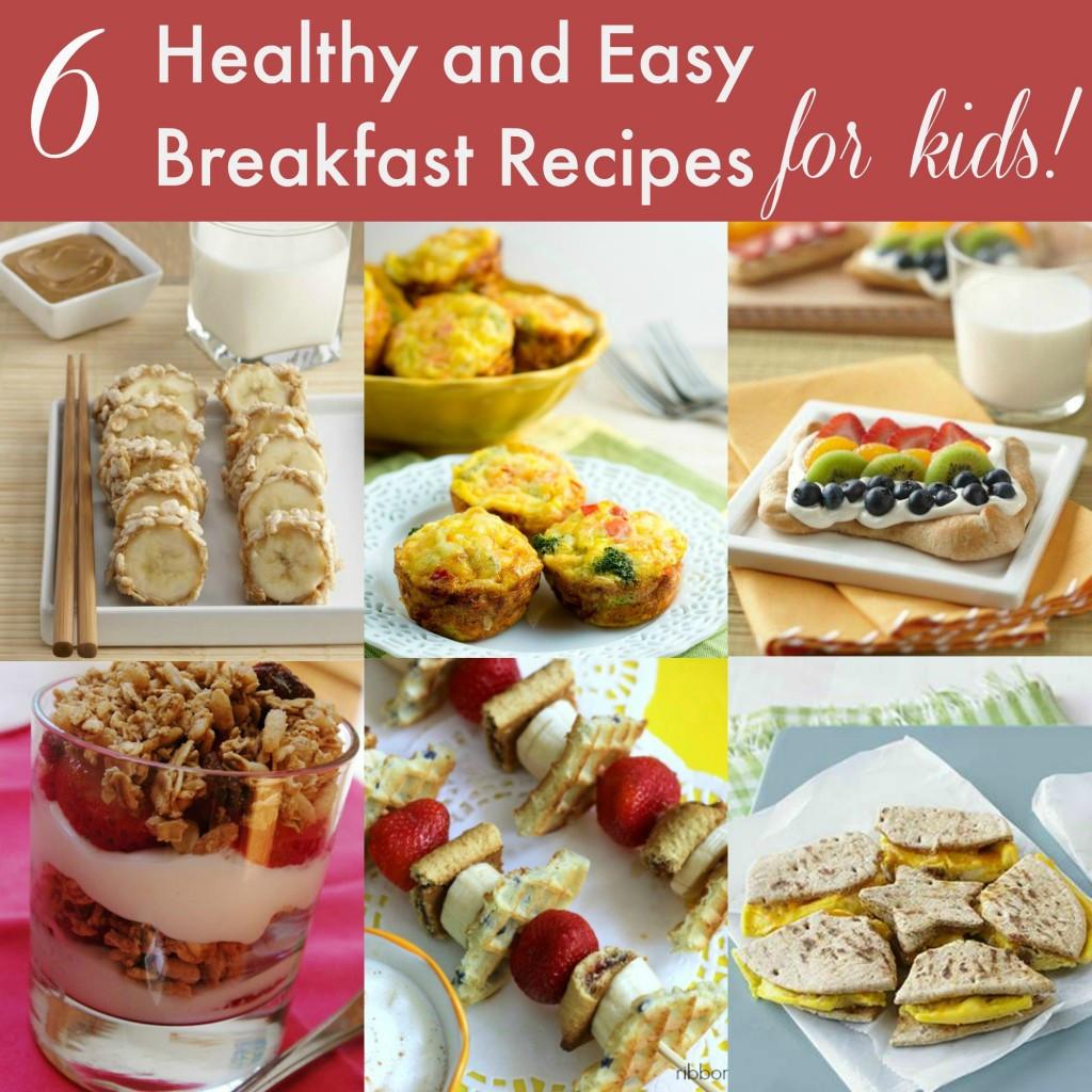 Healthy Breakfast For Kids  12 Healthy Breakfast and Snack Ideas for Kids