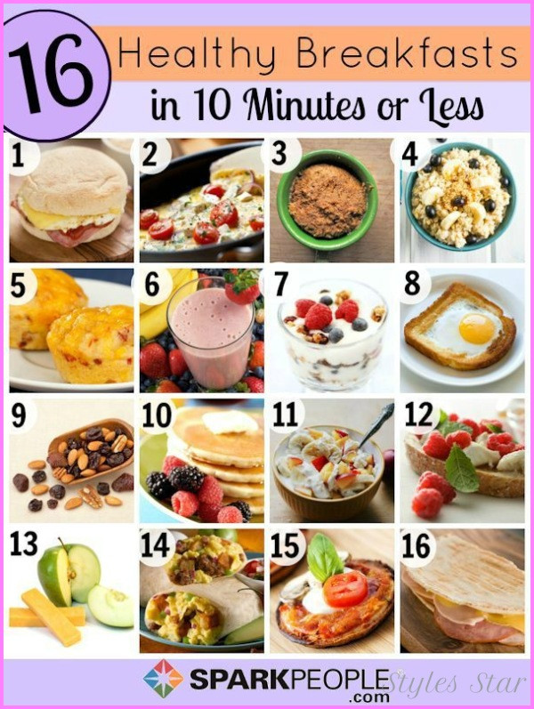 Healthy Breakfast For Losing Weight  Healthy Breakfast Recipes To Lose Weight StylesStar