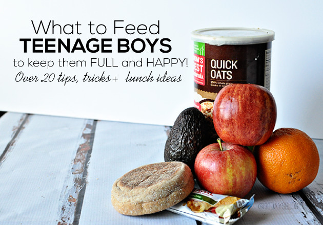 Healthy Breakfast For Teenage Athletes  Healthy Snacks for Teens