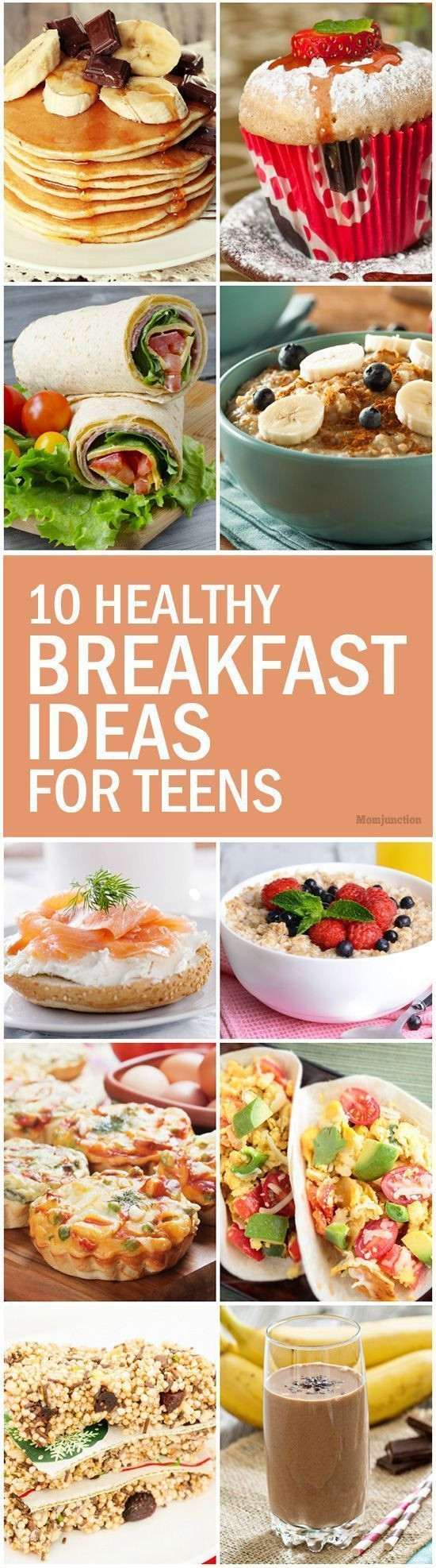 Healthy Breakfast For Teens  1000 images about Teen Topics on Pinterest