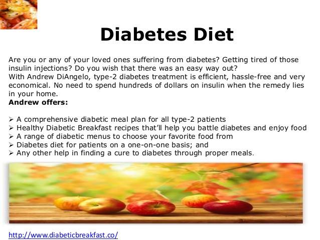 Healthy Breakfast For Type 2 Diabetes  Diabetic friendly breakfast