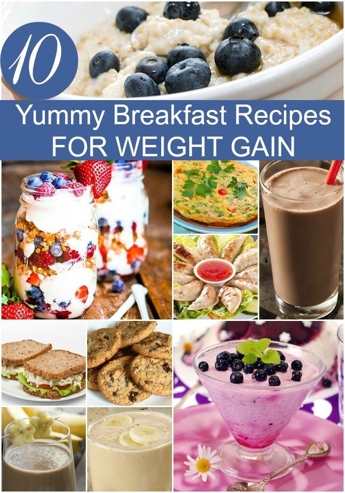 Healthy Breakfast For Weight Gain  Homemade Weight Gain Food – Homemade Ftempo