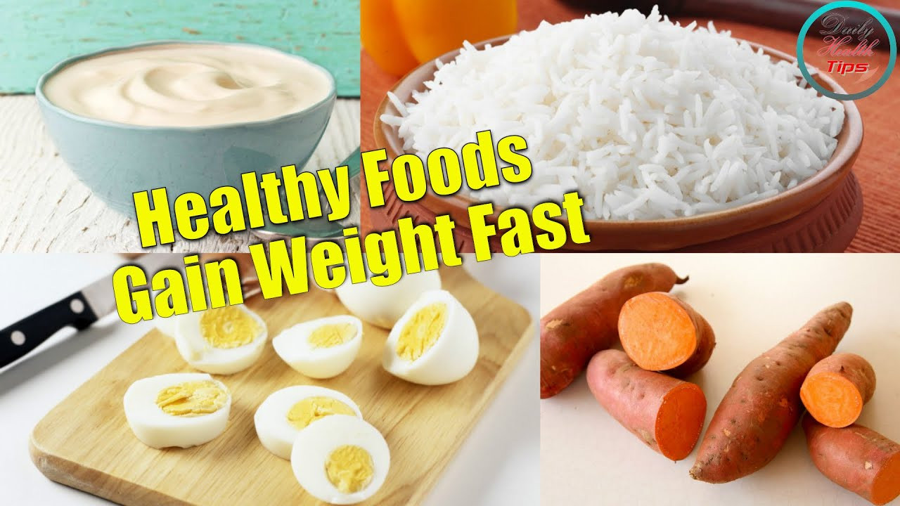 Healthy Breakfast For Weight Gain  Homemade Food To Gain Weight Fast Homemade Ftempo