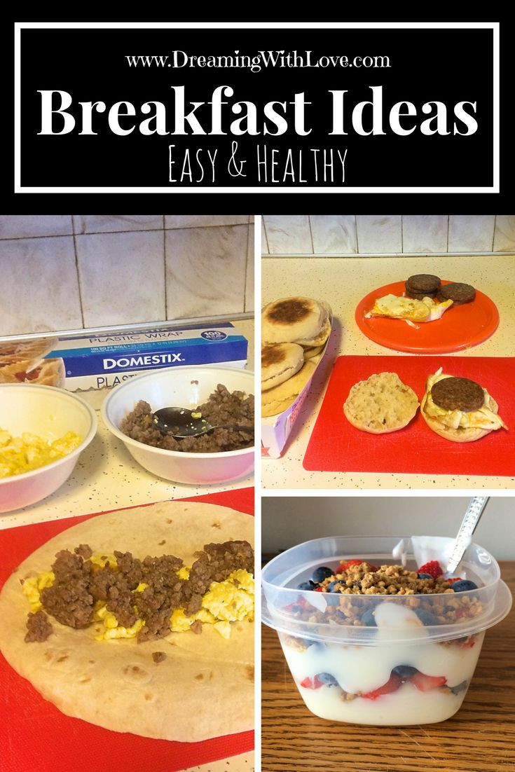 Healthy Breakfast For Work  3 Easy & Healthy Breakfast Ideas Perfect for Work or