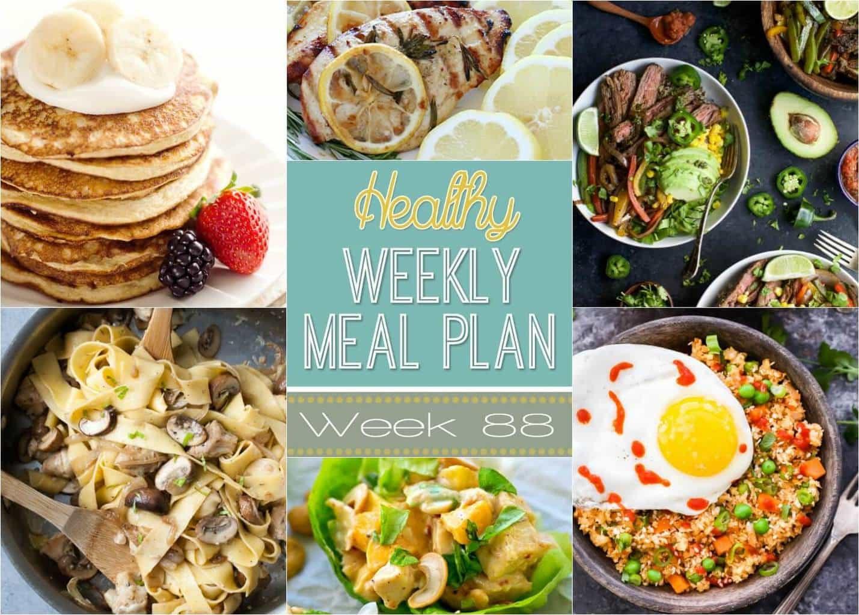 Healthy Breakfast For Work  Healthy Weekly Meal Plan 88 Yummy Healthy Easy