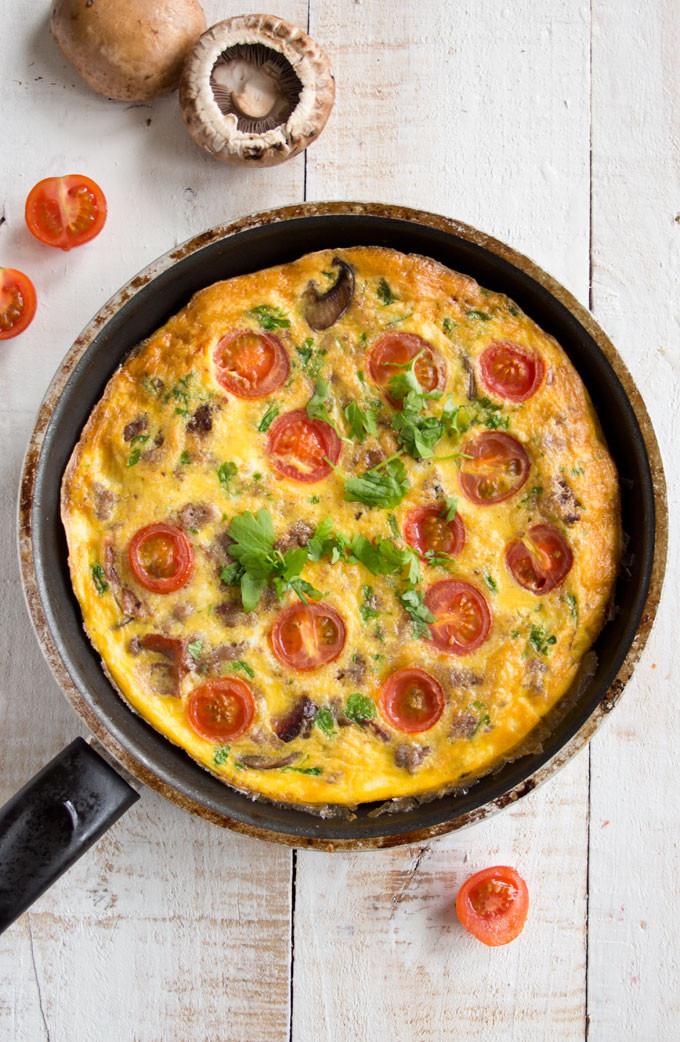 Healthy Breakfast Frittata  Healthy English Breakfast Frittata – Sugar Free Londoner