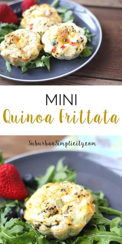 Healthy Breakfast Frittata Recipe  Mini Quinoa Frittata Recipe