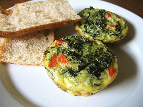 Healthy Breakfast Frittata  Healthy Breakfast Mini Veggie Frittata