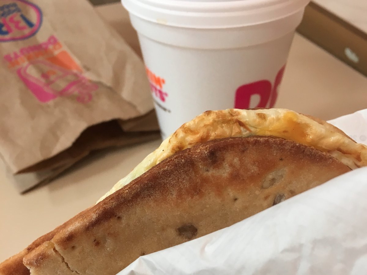 Healthy Breakfast From Dunkin Donuts  Healthy fast food t week review Business Insider