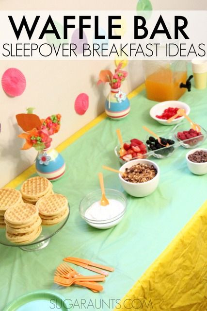 Healthy Breakfast Game  The 25 best Teen bday party ideas sleepover ideas on