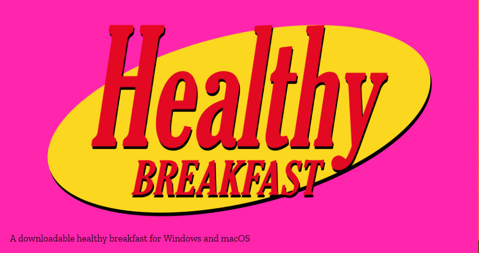 Healthy Breakfast Game  Healthy Breakfast – NONPROFIT GAMES