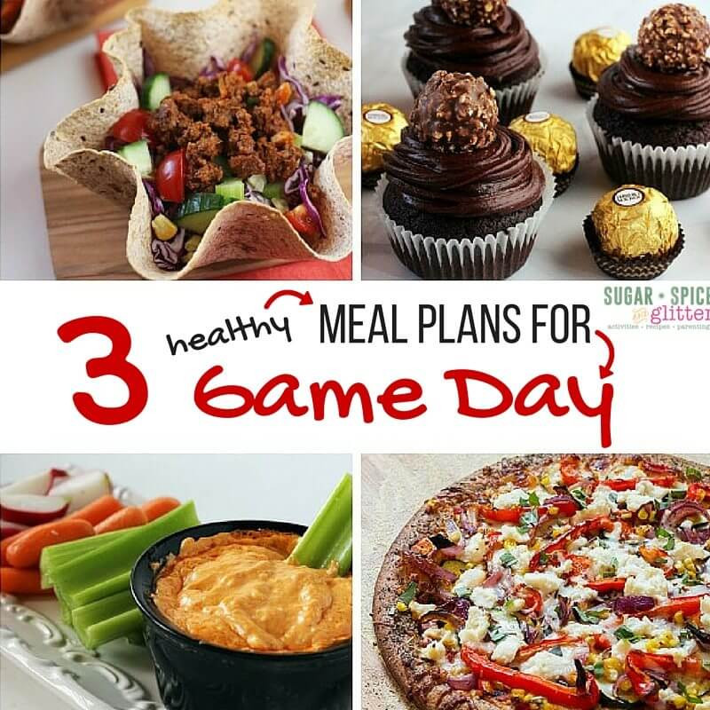 Healthy Breakfast Game  3 Healthy Meal Plans for Game Day ⋆ Sugar Spice and Glitter