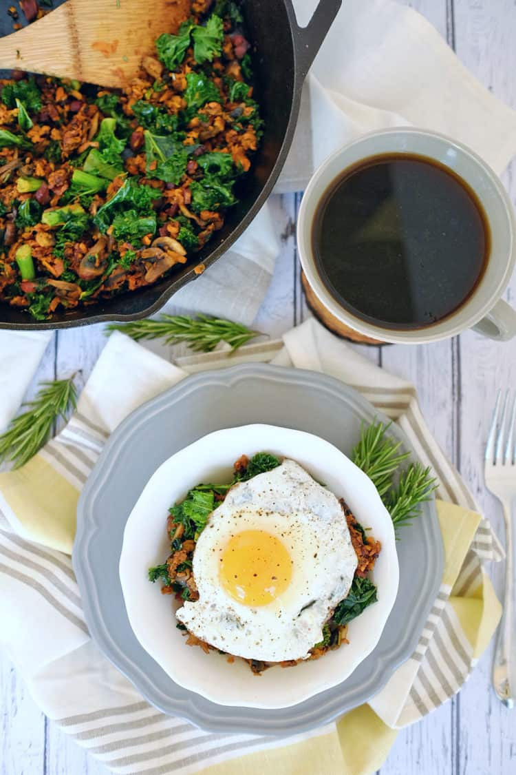Healthy Breakfast Hash  Sweet Potato Breakfast Hash Paleo Whole30 Dairy Free