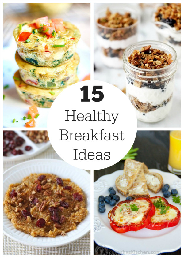 Healthy Breakfast Idea  New Year New You 15 Healthy Breakfast Ideas