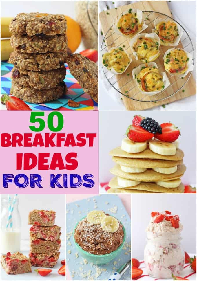 Healthy Breakfast Ideas For Kids  50 Breakfast Ideas for Kids My Fussy Eater